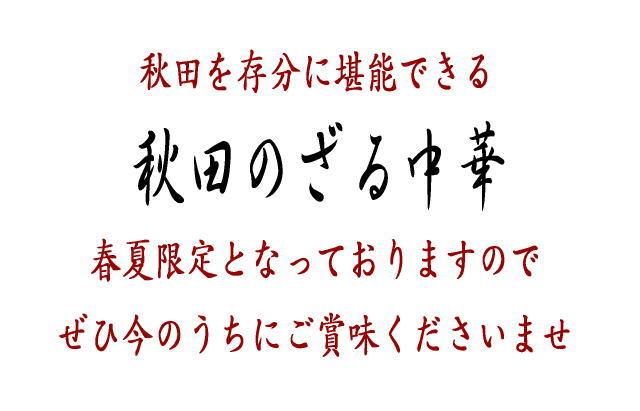 秋田のざる中華ページ5